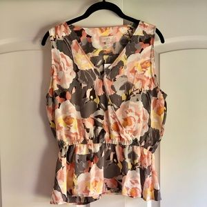Loft Outlet floral top